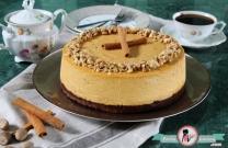 Balkabaklı Brownie Cheesecake